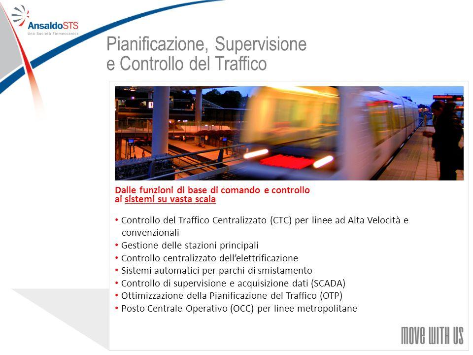 Pianificazione, Supervisione e Controllo del Traffico