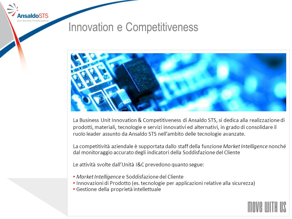 Innovation e Competitiveness