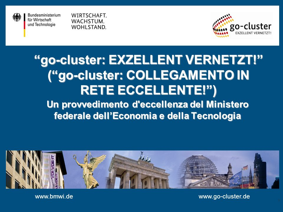 go-cluster: EXZELLENT VERNETZT