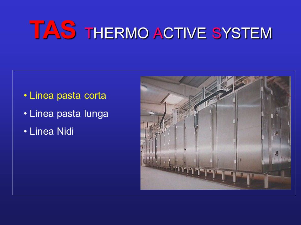 TAS THERMO ACTIVE SYSTEM