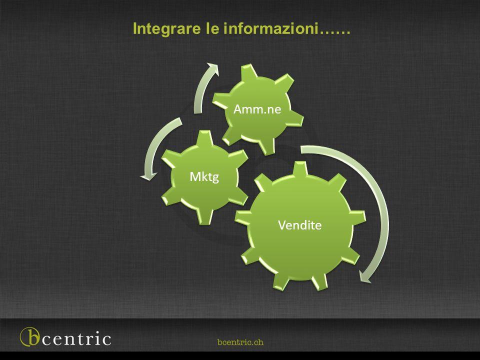 Integrare le informazioni……