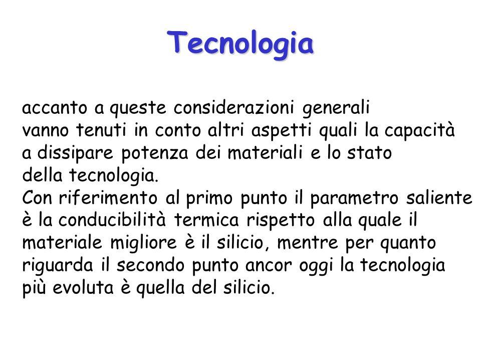 Tecnologia accanto a queste considerazioni generali