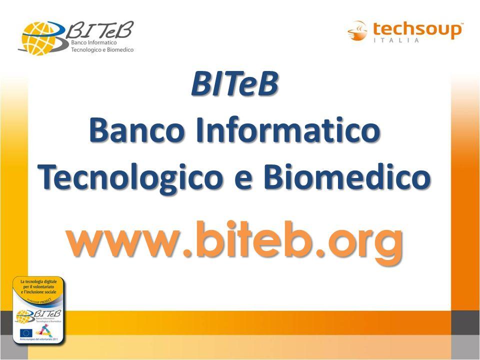 BITeB Banco Informatico Tecnologico e Biomedico
