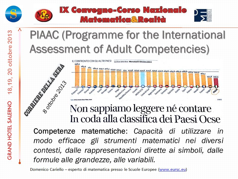 PIAAC (Programme for the International Assessment of Adult Competencies)