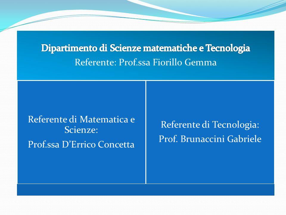 Dipartimento di Scienze matematiche e Tecnologia