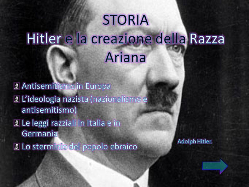 STORIA Hitler e la creazione della Razza Ariana
