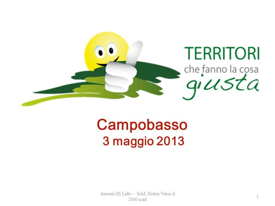 Antonio Di Lallo - GAL Molise Verso il 2000 scarl