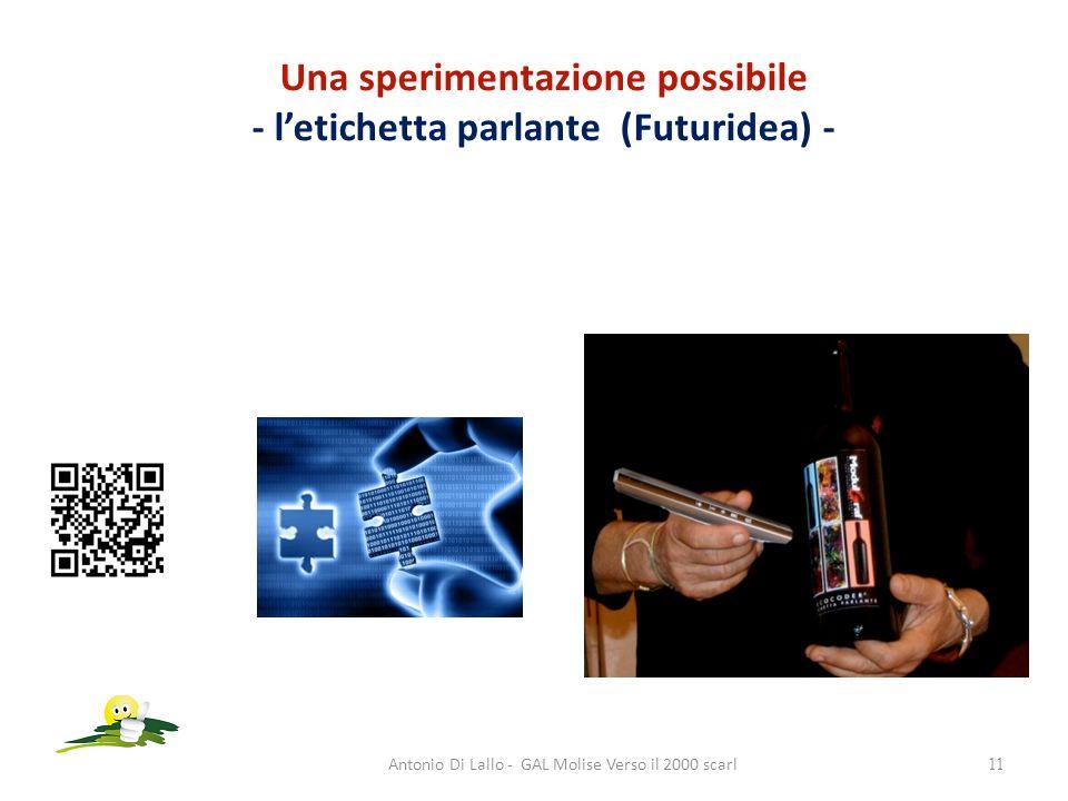 Una sperimentazione possibile - l'etichetta parlante (Futuridea) -
