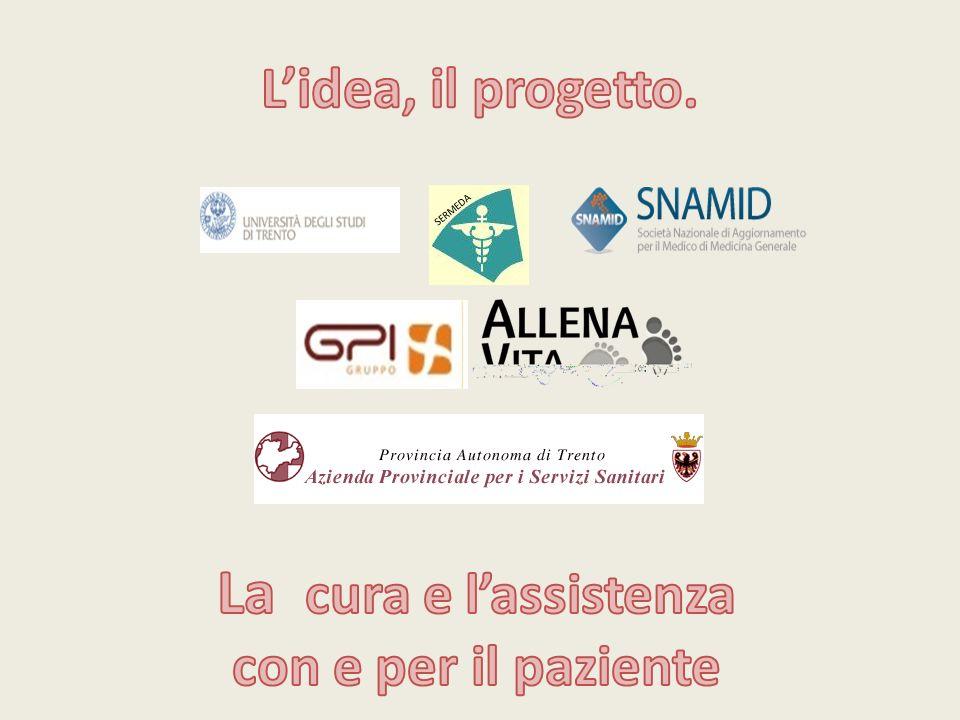 La cura e l'assistenza L'idea, il progetto. con e per il paziente