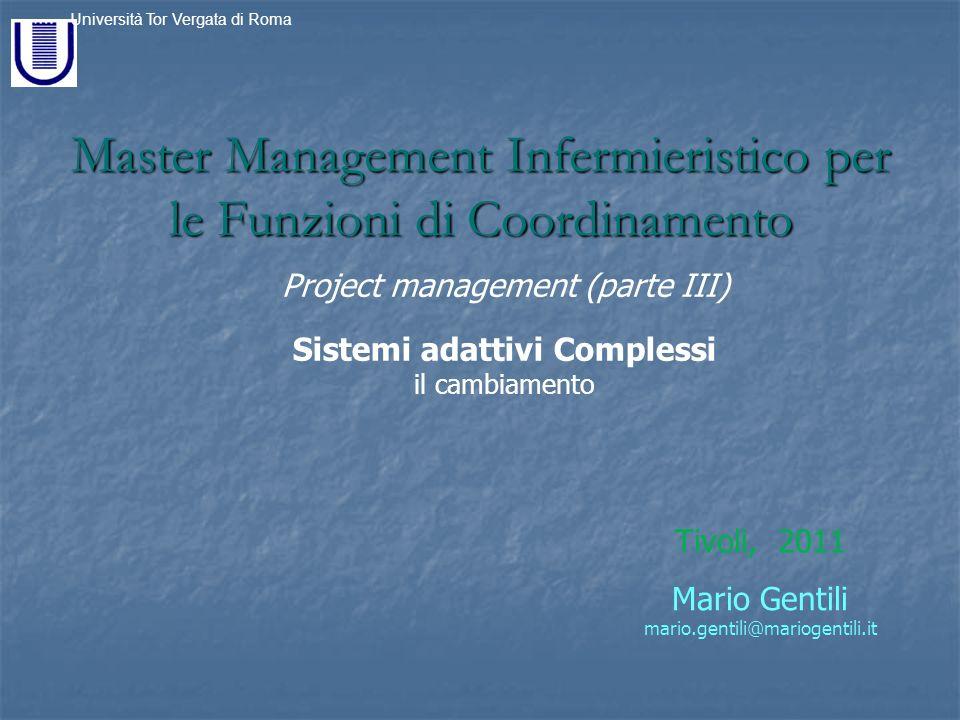 Master Management Infermieristico per le Funzioni di Coordinamento