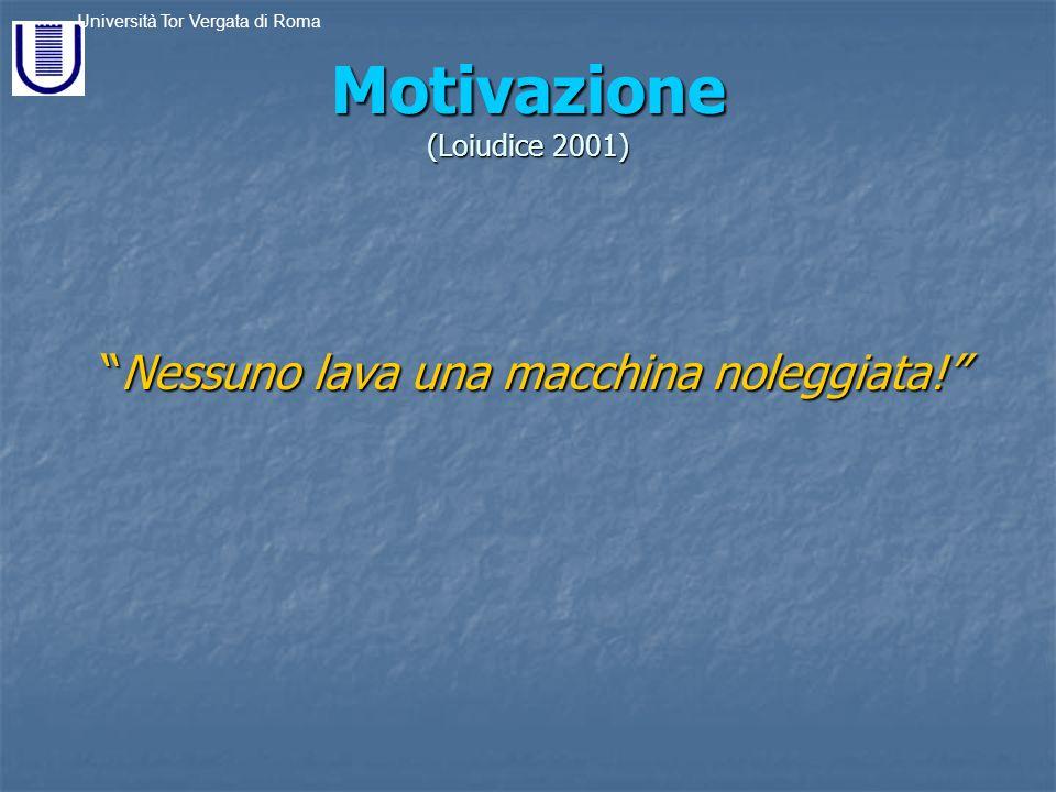 Motivazione (Loiudice 2001)