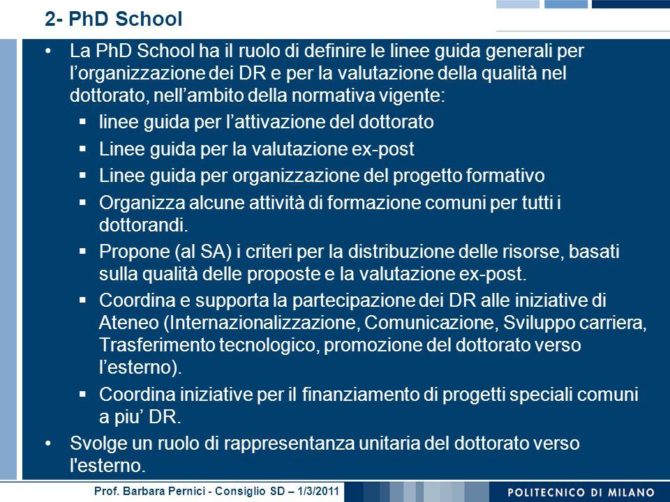 2- PhD School