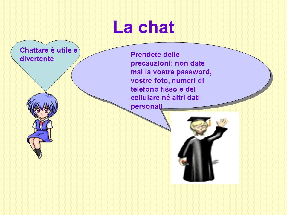 La chat Chattare è utile e divertente