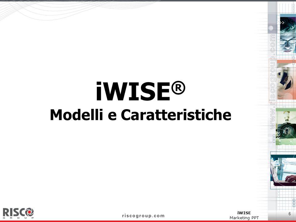 iWISE® Modelli e Caratteristiche