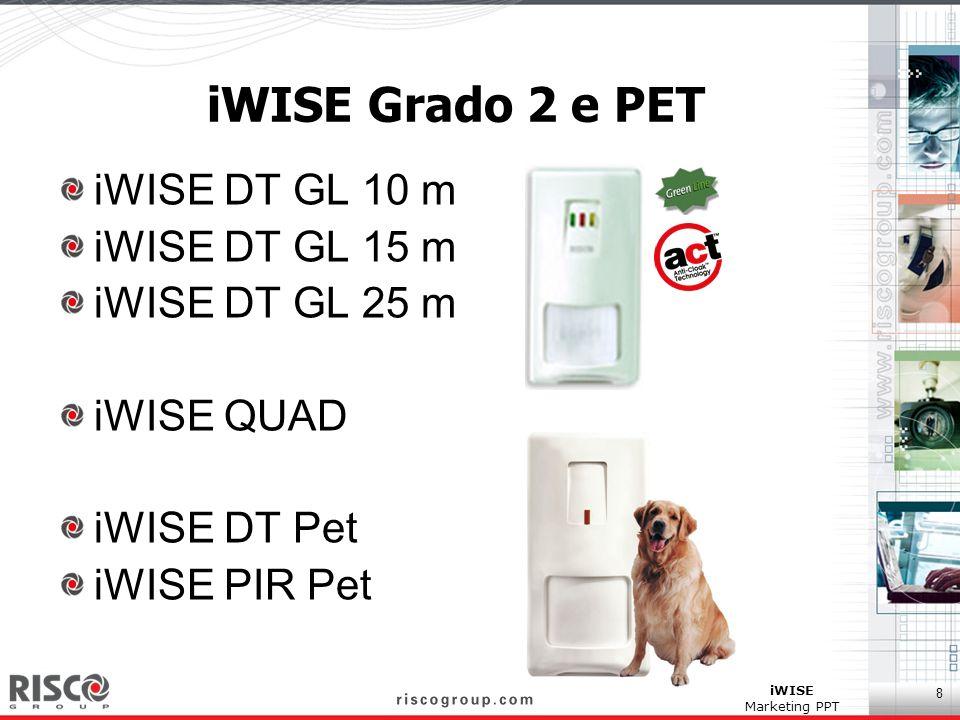 iWISE Grado 2 e PET iWISE DT GL 10 m iWISE DT GL 15 m iWISE DT GL 25 m