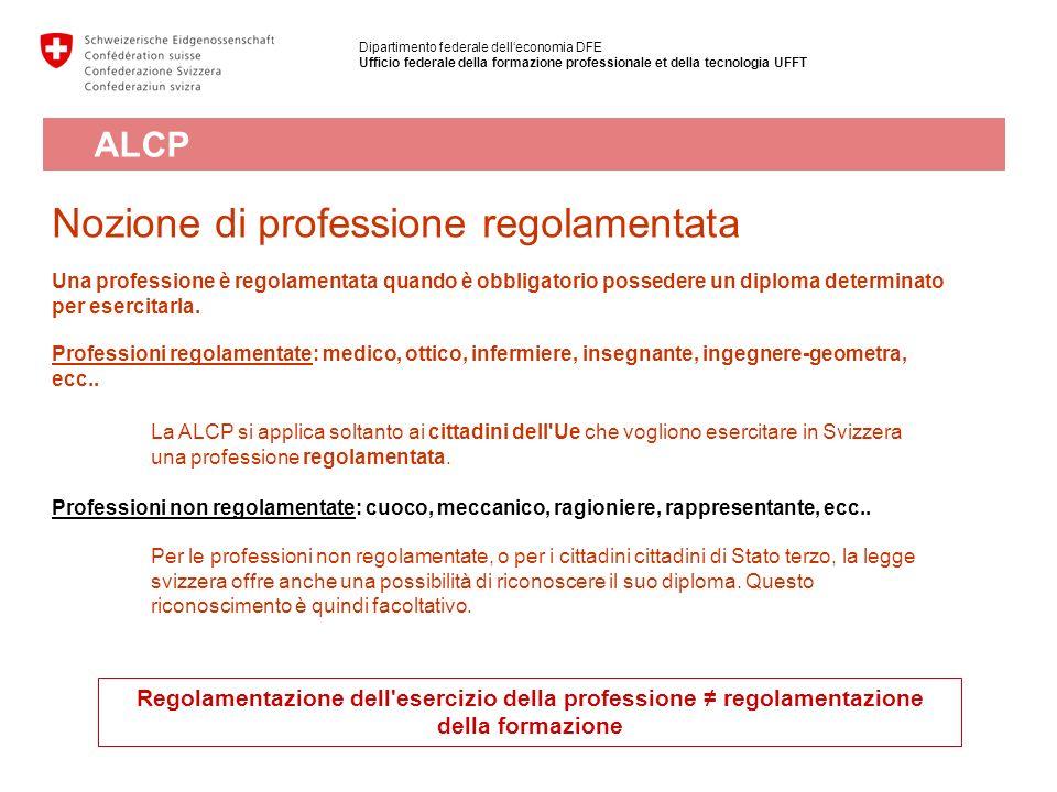 Nozione di professione regolamentata