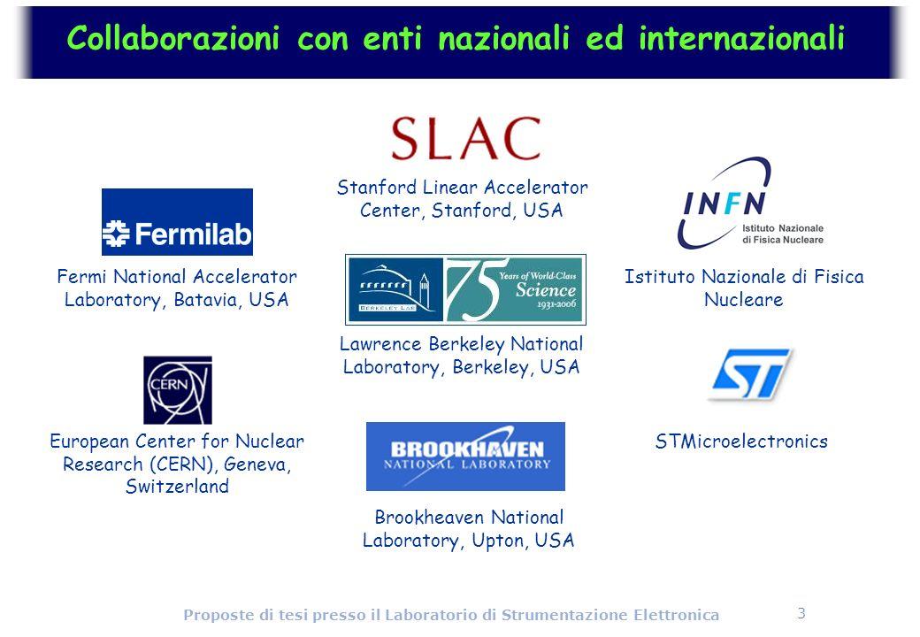 Collaborazioni con enti nazionali ed internazionali