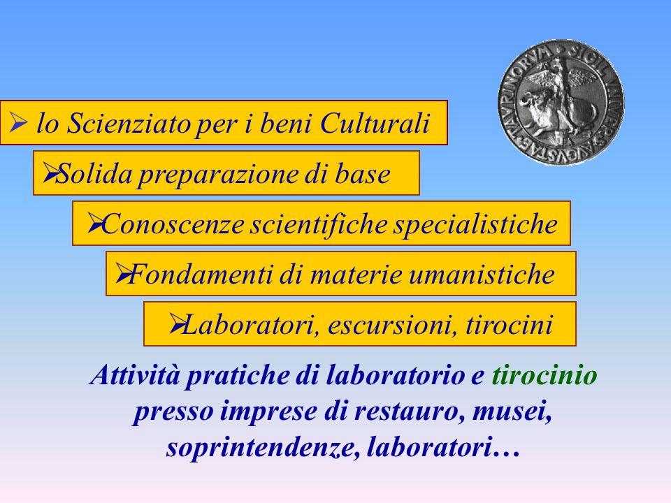 lo Scienziato per i beni Culturali
