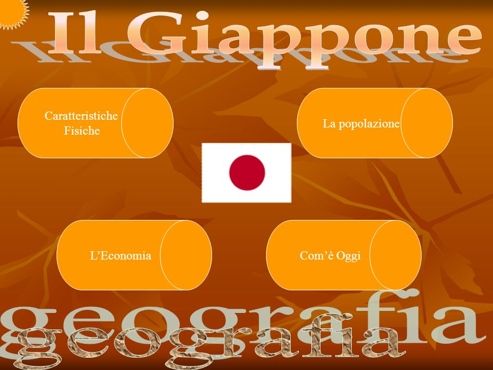 Il Giappone geografia Caratteristiche Fisiche La popolazione
