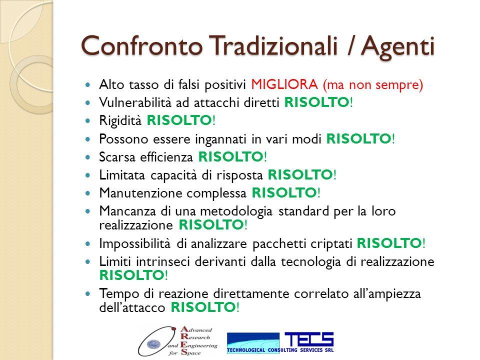 Confronto Tradizionali / Agenti