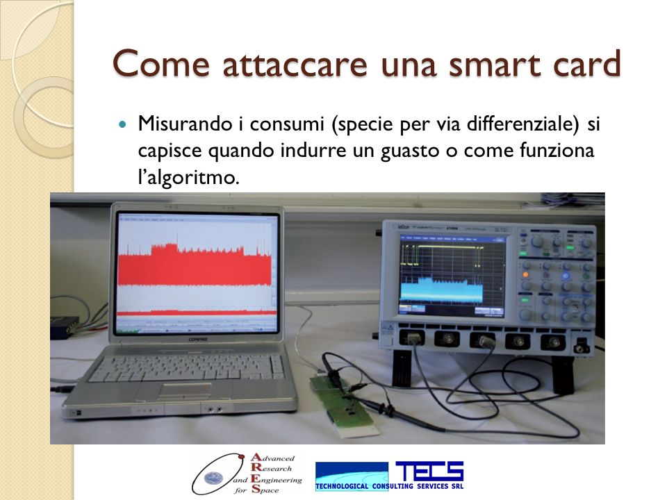Come attaccare una smart card