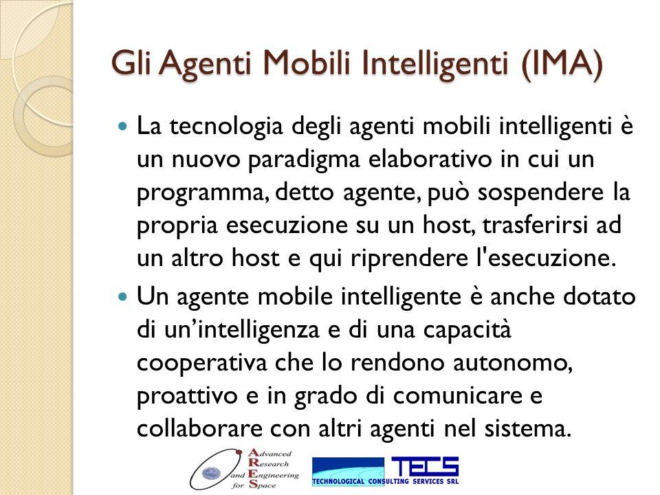 Gli Agenti Mobili Intelligenti (IMA)