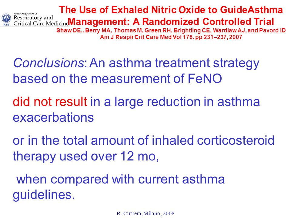 did not result in a large reduction in asthma exacerbations
