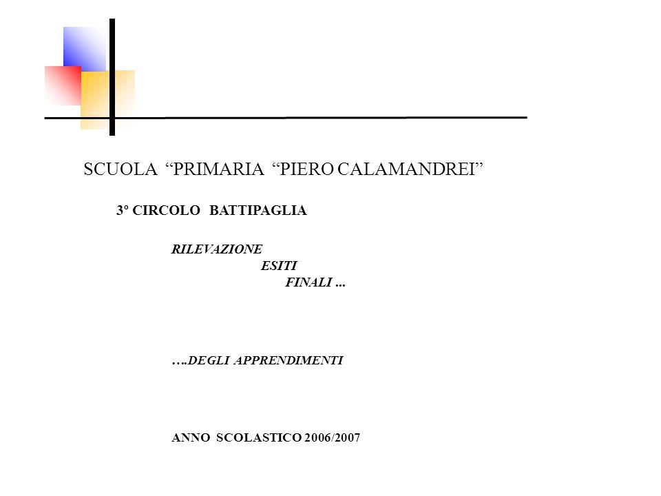 SCUOLA PRIMARIA PIERO CALAMANDREI