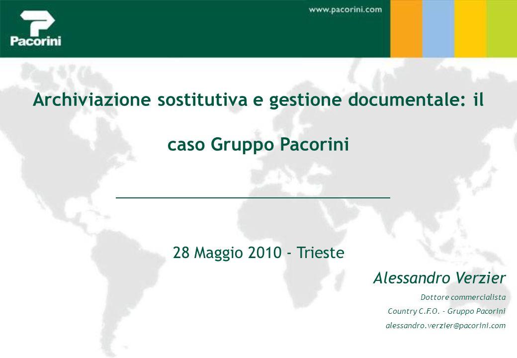 Archiviazione sostitutiva e gestione documentale: il caso Gruppo Pacorini