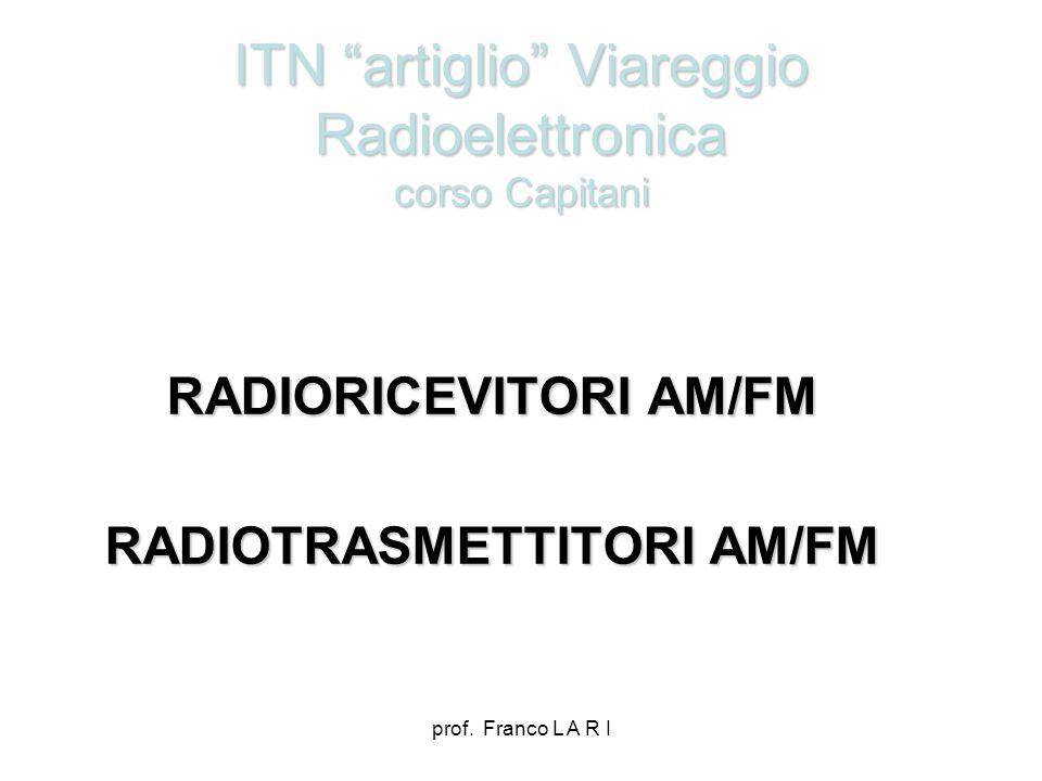 ITN artiglio Viareggio Radioelettronica corso Capitani