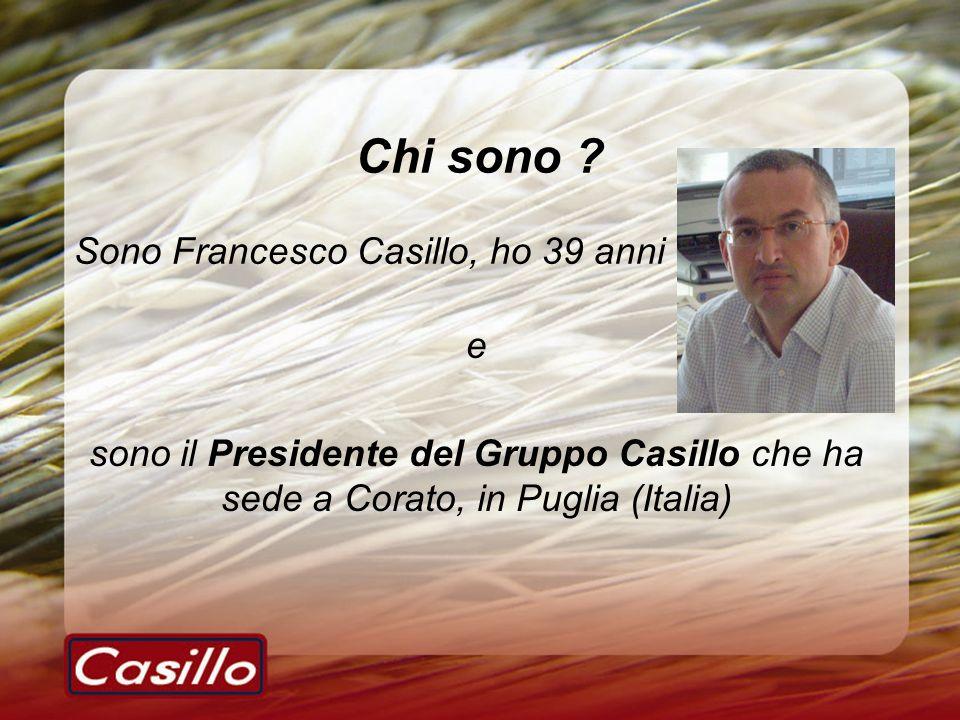 Chi sono Sono Francesco Casillo, ho 39 anni e
