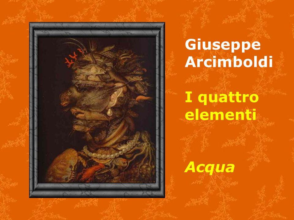 Giuseppe Arcimboldi I quattro elementi Acqua
