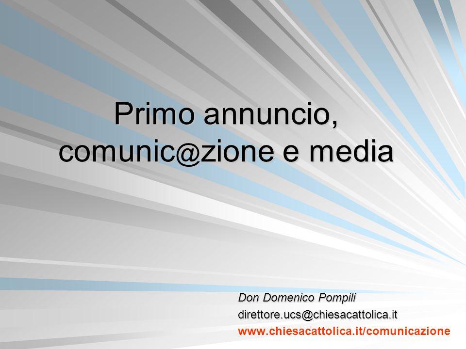 Primo annuncio, comunic@zione e media