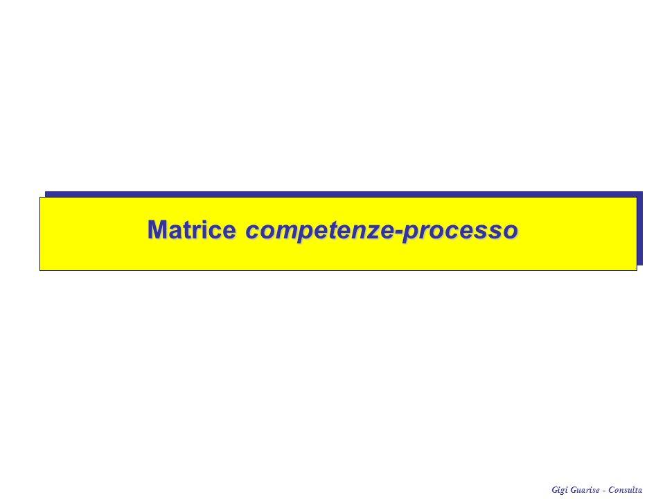 Matrice competenze-processo