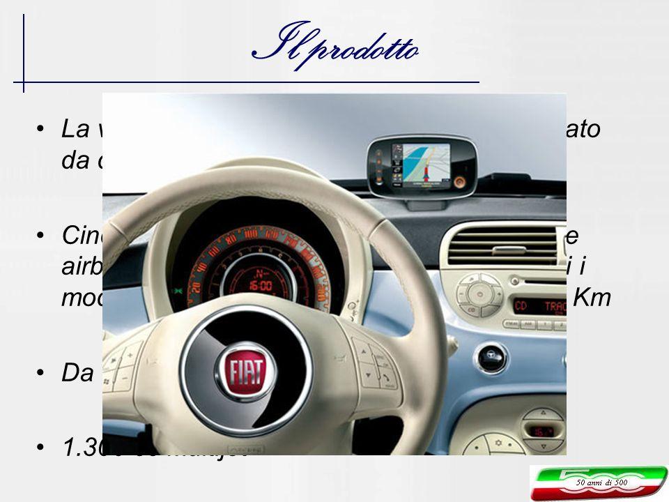 Il prodotto La vettura è assemblata su un pianale derivato da quello della Fiat Panda.