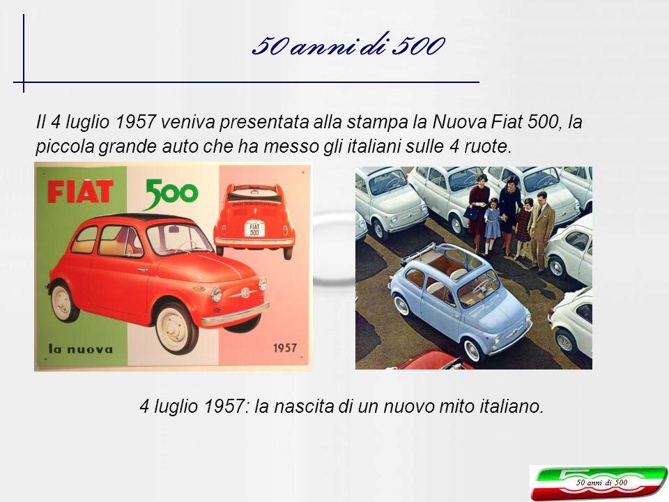 4 luglio 1957: la nascita di un nuovo mito italiano.