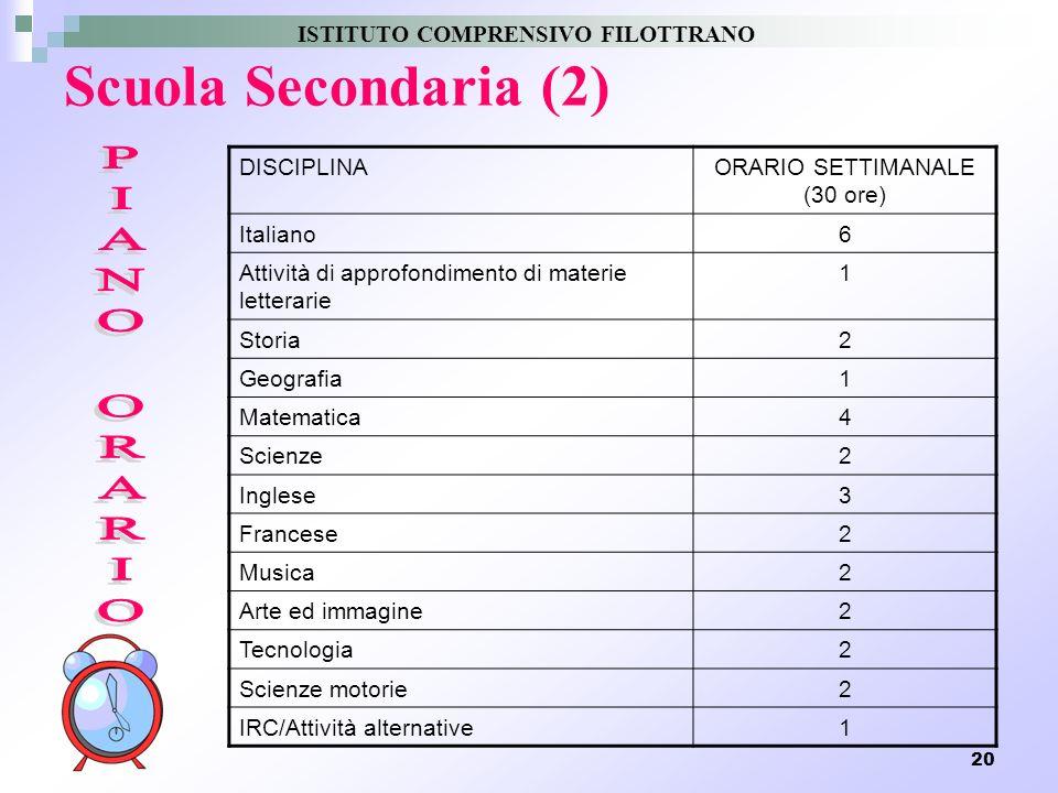 ISTITUTO COMPRENSICO FILOTTRANO