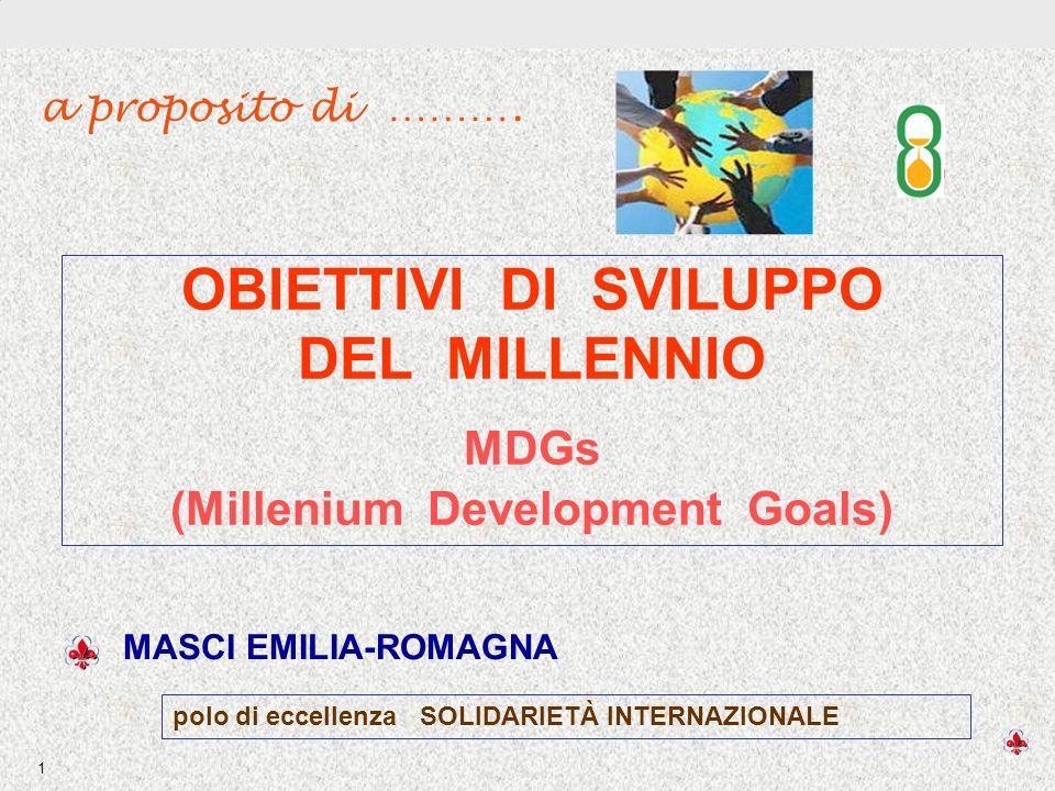 (Millenium Development Goals)
