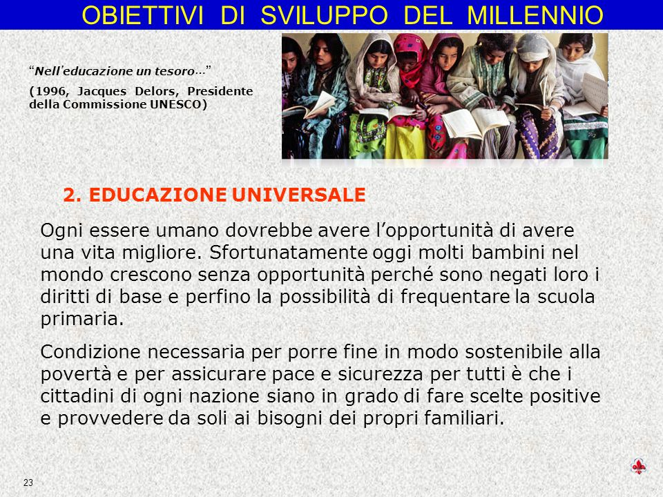 2. EDUCAZIONE UNIVERSALE