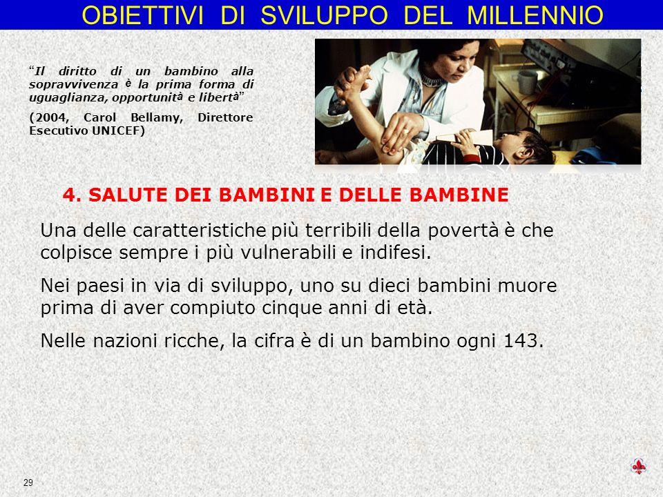 4. SALUTE DEI BAMBINI E DELLE BAMBINE