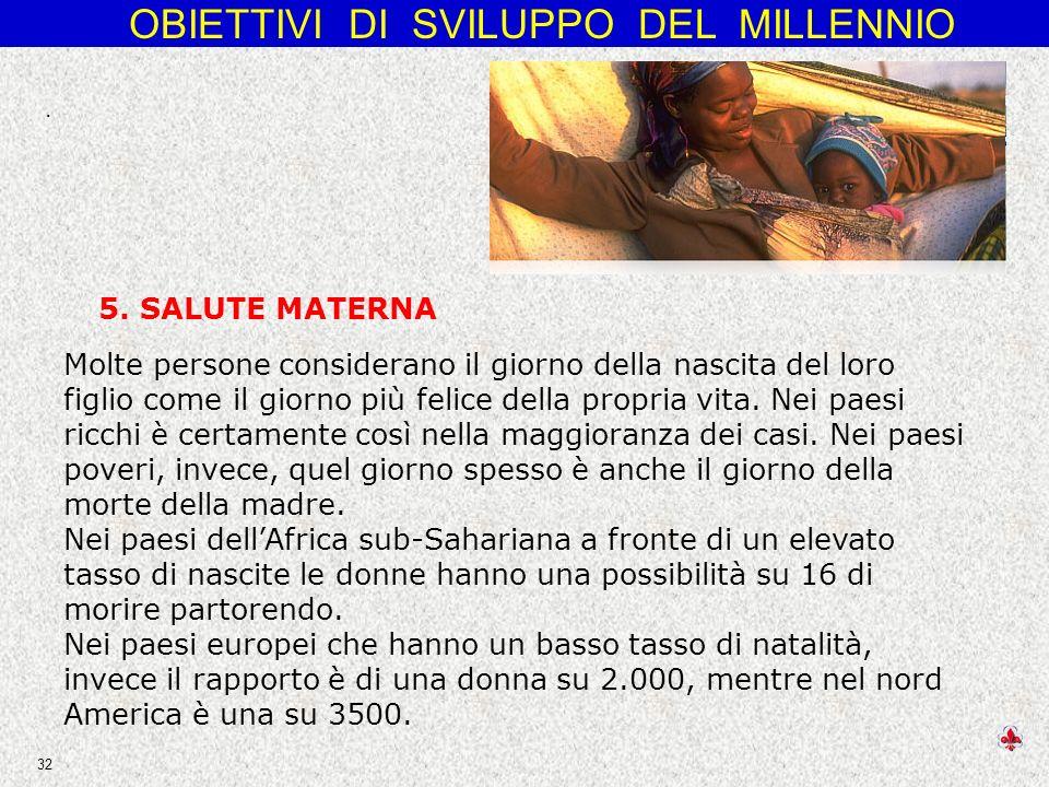 . 5. SALUTE MATERNA.