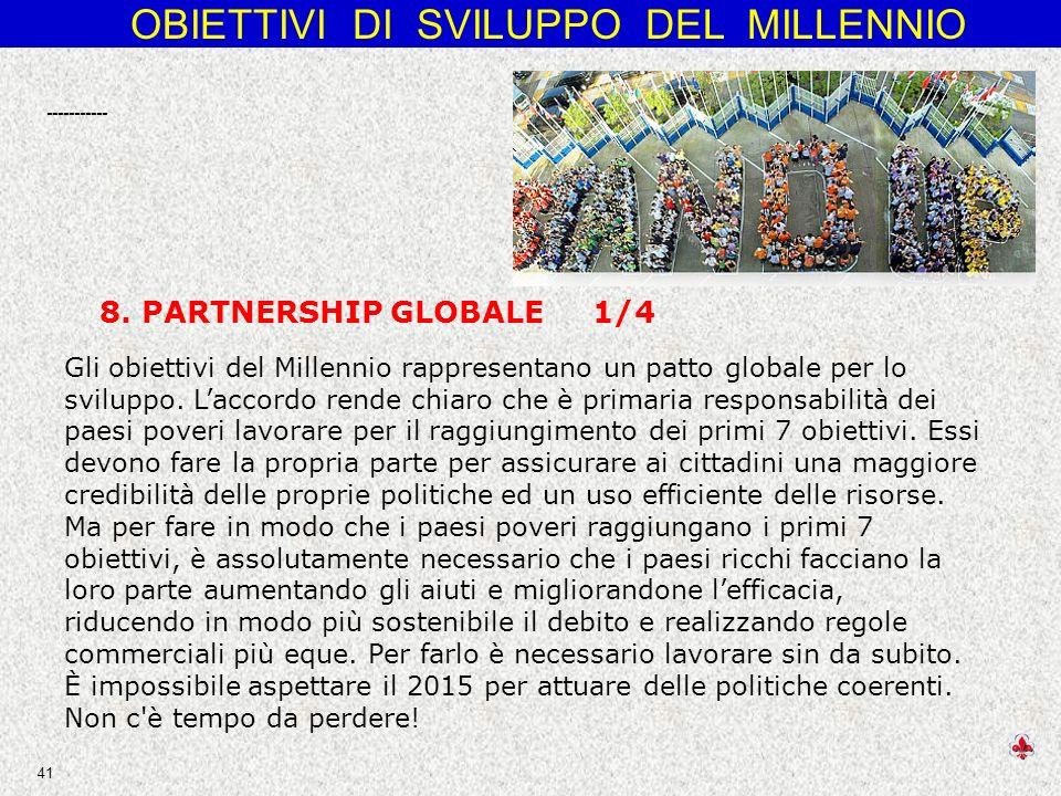 ----------- 8. PARTNERSHIP GLOBALE 1/4.
