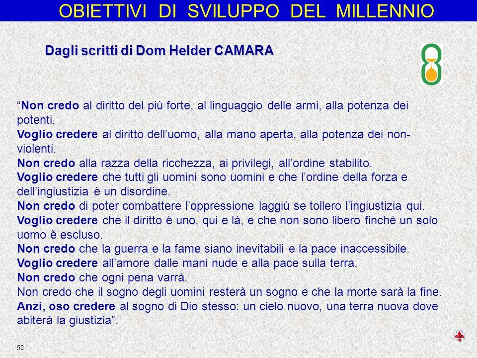 Dagli scritti di Dom Helder CAMARA
