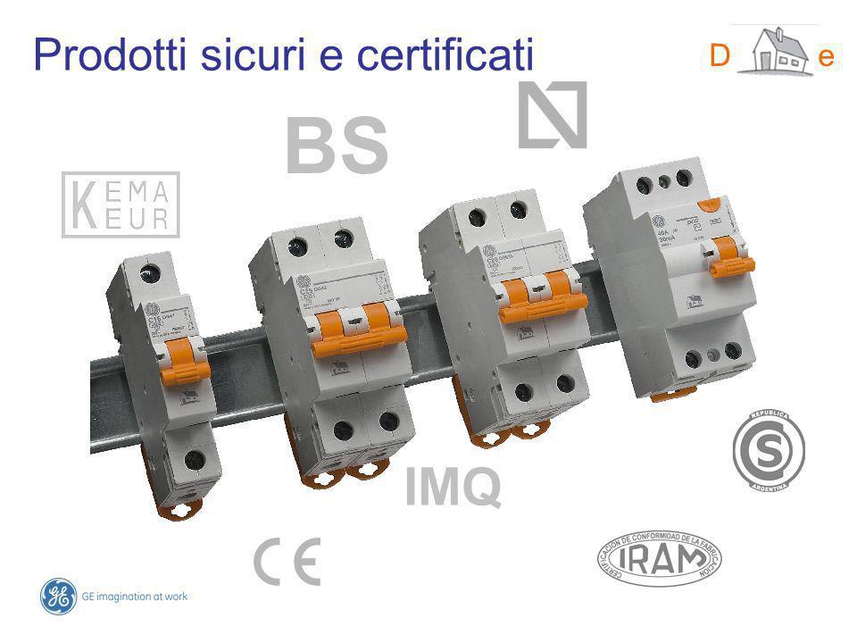 Prodotti sicuri e certificati