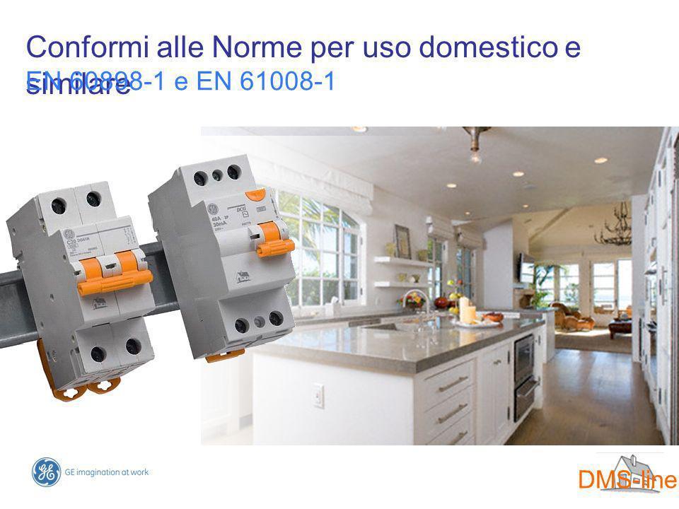 Conformi alle Norme per uso domestico e similare