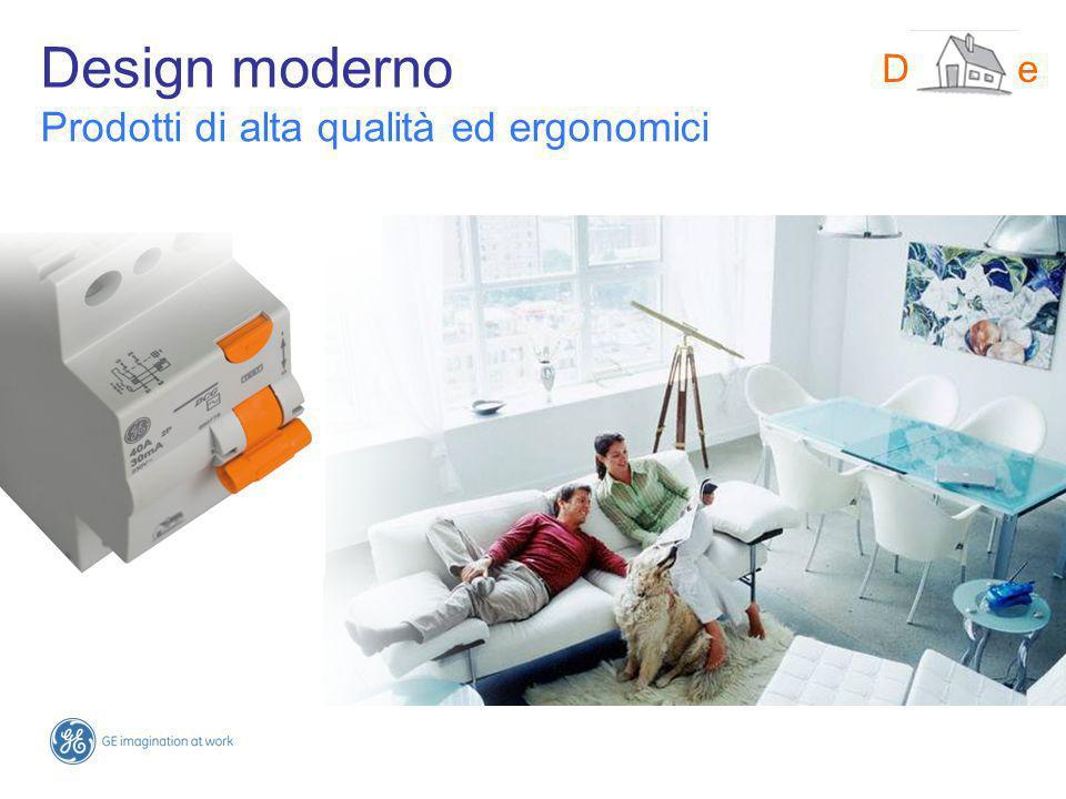 Design moderno DMS-line Prodotti di alta qualità ed ergonomici