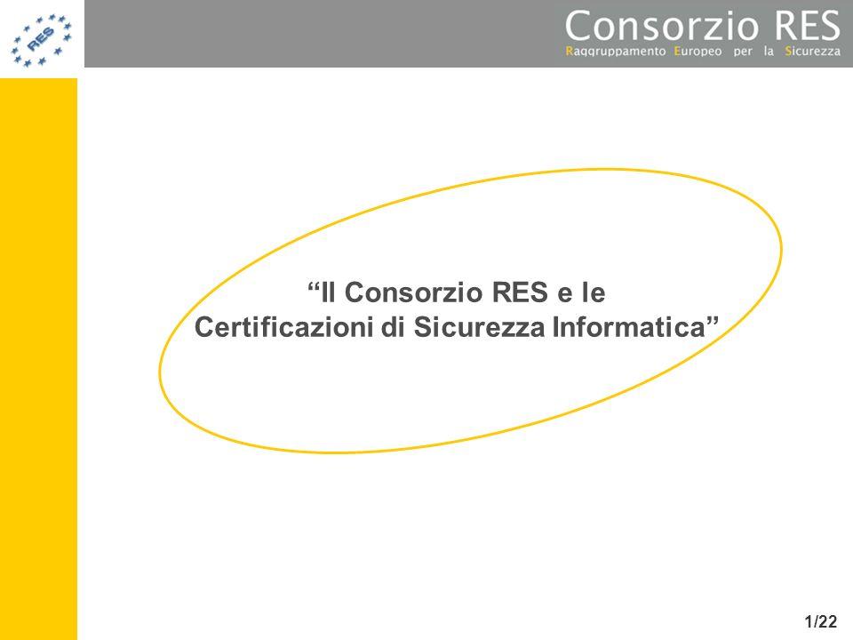 Certificazioni di Sicurezza Informatica