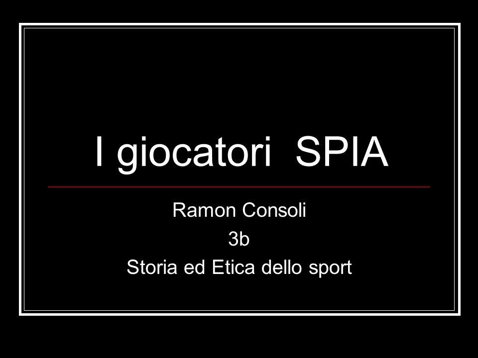 Ramon Consoli 3b Storia ed Etica dello sport
