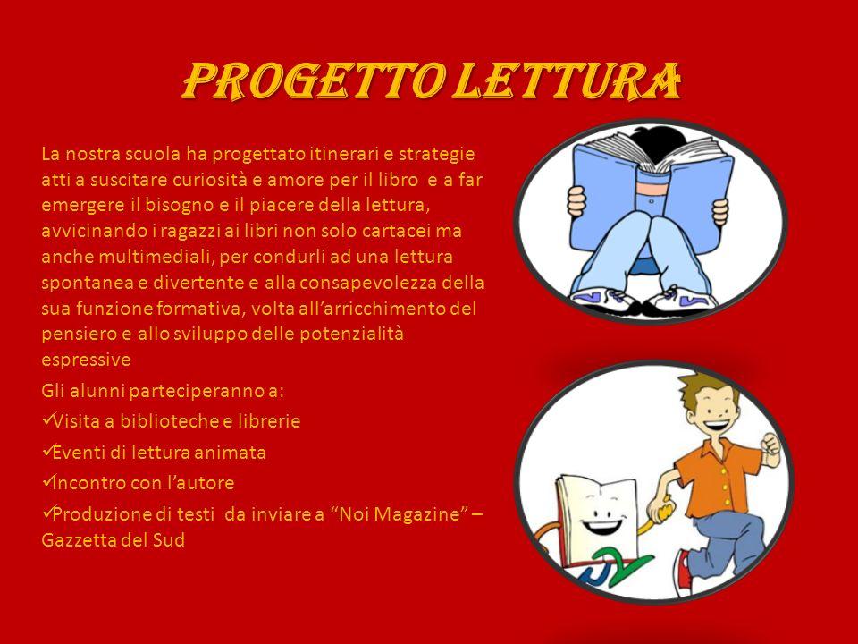 PROGETTO LETTURA