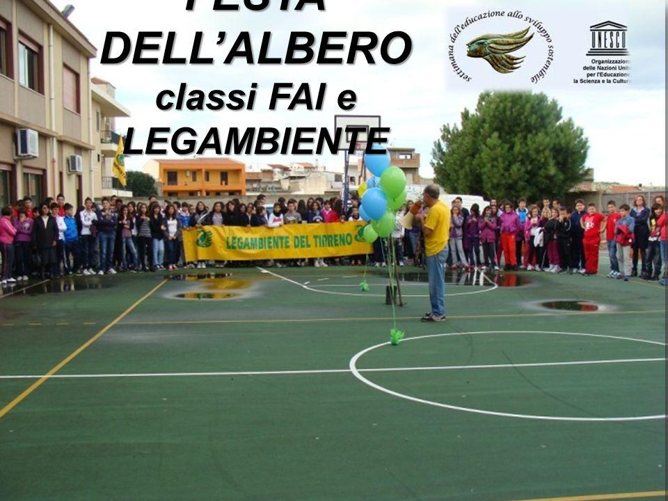 FESTA DELL'ALBERO classi FAI e LEGAMBIENTE